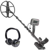 Metaldetector Golden Mask 5+ SE Relictum 5-15kHz with wireless headphones
