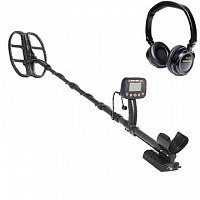 Metaldetector Golden Mask One 8 kHz with wireless headphones