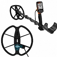 Metaldetector Quest Q40 with additional 33cm Ultimate coil